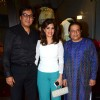 Talat Aziz, Bina Aziz and Anup Jalota at Launch of Amy Billimoria and Pankti Shah's Store