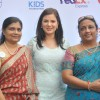 Urvashi Sharma poses with guests at 'Safe Kids Day' Event