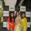 Eesha Kopikar poses with guests at Ghanasingh 'Be True' Event