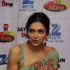 Deepika Padukone interacts with the media at the Promotions of Piku on DID Supermoms Season 2