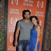 Vivaan Bhatena with Wife Nikhila at Launch of Todi Mill Social