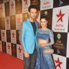 Nandish Sandhu and Rashmi Desai at Star Parivaar Awards 2015