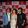 Mika, Sunidhi and Himesh at lauch of Voice India