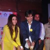 Vivek Oberoi and Raveena Tandon Snapped at Anti Cancer Event