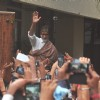 Amitabh Bachchan Snapped Outside Jalsa!