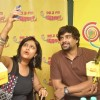 R. Madhavan clicks a selfie with RJ Sangeeta at Radio Mirchi Studio