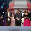 Parineeti, Tigmanshu Dhulia and Raju Hirani at AIBA Awards with The Hosts Karan and Manish Paul