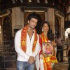 Mugdha Godse and Kushal Tandon Snapped at Siddhivinayak