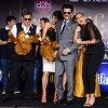 Anil Kapoor and Sonakshi Sinha pose during IIFA 2015 Press Conference