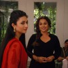 Vidya Balan was snapped on the sets of Ye Hai Mohabbatein for the Promotions of Hamari Adhuri Kahani