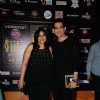 Omung Kumar poses with Wife at the Premier of Dil Dhadakne Do at IIFA 2015
