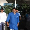 Manoj Tiwari Snapped at Airport