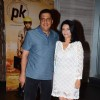 Ronnie Screwvala With His Wife at Success Bash of PK