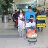 Vivek Oberoi Snapped With His Family at Airport