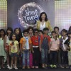 Aditi Gowitrikar Poses With Kids at Shine Young Event