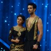 Nandish and Rashmi on Nach Baliye 7