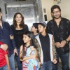 Madhuri Dixit With Her Family and Arshad Warsi Attends Screening of ABCD 2