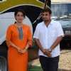 Juhi Chawla on the Sets of Her Upcoming Film