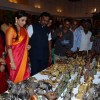 Vidya Balan and Hon'ble Minsiter Vinod Tawde at Craft Exhibition