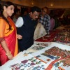 Vidya Balan and Hon'ble Minister Vinod tawde Checking Out Things at Craft Exhibition