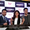 Raj Kundra and Shilpa Shetty at Amazon Event