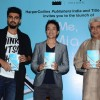 Debashish Irengbam, Arjun Kapoor and Jave Akhtar at Book Launch of Me Mia Multiple!