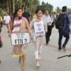 Kiran Rao Protests for FTII Cause