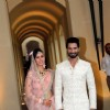 Shahid Kapoor and Mira Rajput walk hand in hand as man and wife!