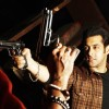 Salman Khan showing rifle | Wanted (2009) Photo Gallery