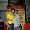 Siddharth Jadhav and Vinay Pathak at Premiere of Gour Hari Dastaan