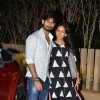 Shahid and Mira pose for the media at their Mumbai Residence