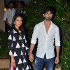 Shahid and Mira arrive at their Mumbai Residence