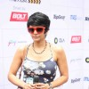 Mandira Bedi poses for the media at Street Smart Street Safe Event