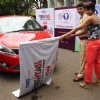 Mandira Bedi flags off the Street Smart Street Safe Event