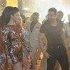 Shruti Haasan and John Abraham on Location of Welcome Back!