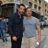 John and Nana Patekar On Location of Welcome Back!