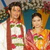 Marriage stills of Archana and Manav