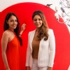 Gauri Khan and Lekha Washington at Art Show