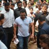 Salman Khan Attends Friend's Father's Funeral