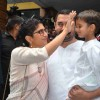 Kiran Rao and Aamir Khan With Their Kid Celebrates Eid With Media
