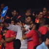 Abhishek Captures Selfie With Audience at Pro Kabaddi's First Match