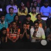 Abhishek Bachchan was snapped in a tensed mood during the Pro Kabaddi Match