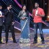 Ajay Devgn interacts with the audience at the Promotions of Drishyam on Nach Baliye 7