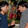 Raju Shrivastav and Manoj Tiwari at Ravi Kissen's Birthday Bash