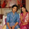 Shree and Hari looking gorgeous