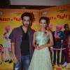Tia Bajpai and Satyajeet Dubey at Press Meet of Baankey Ki Crazy Baraat