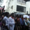 Protest Outside Neha Dhupia's Home