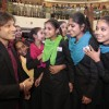 Vivek Oberoi Meets Girls from DEVI foundation
