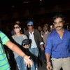 Shahrukh Khan and Kajol Snapped at Airport