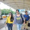Aftab Shivdasani and Nin Dusanj Snapped at Airport